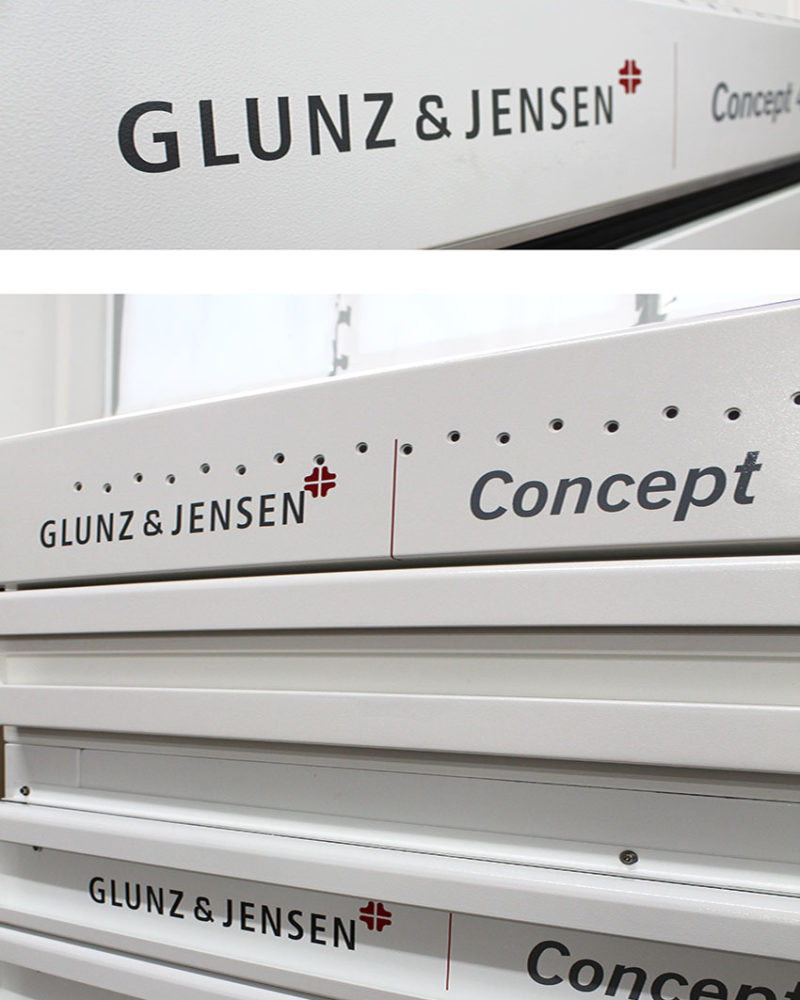 Tecnologia Glunz & Jensen Concept